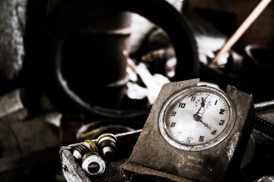 time, clock, numbers, vintage