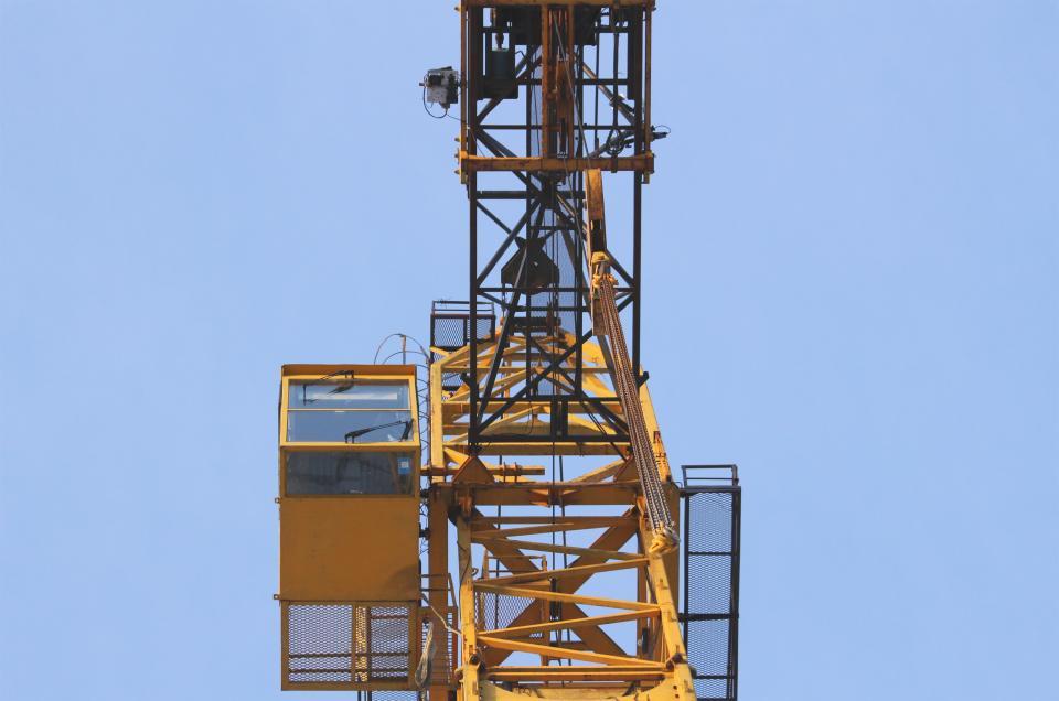 crane, construction