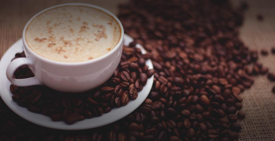 coffee, latte, cappuccino, coffee beans, cafe