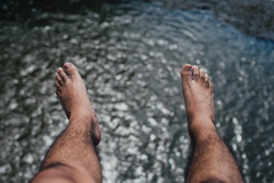 feet, legs, lake, river, water, lifestyle, people