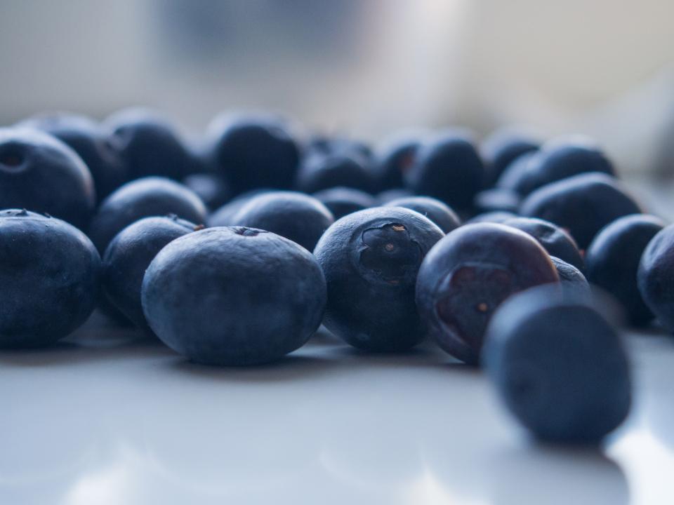 blueberries, fruits, healthy, food