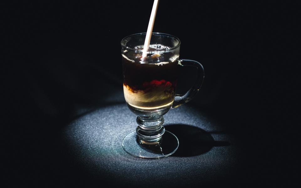 iced, coffee, cafe, cream, straw, drinks