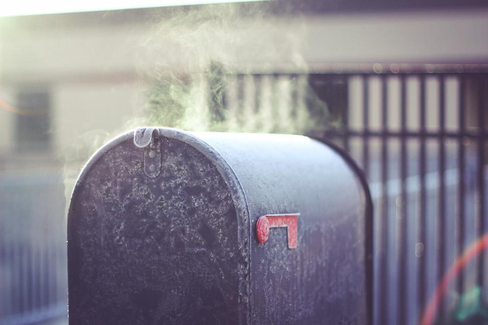 mailbox, steam