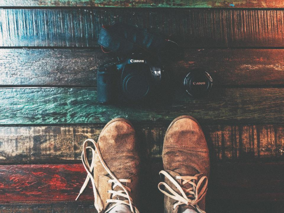 shoes, sneakers, canon, camera, lens, photography, objects, technology, hardwood