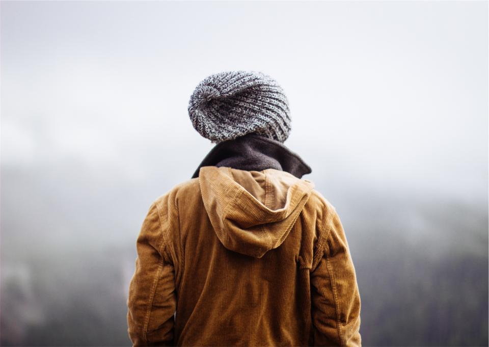 people, hat, toque, jacket