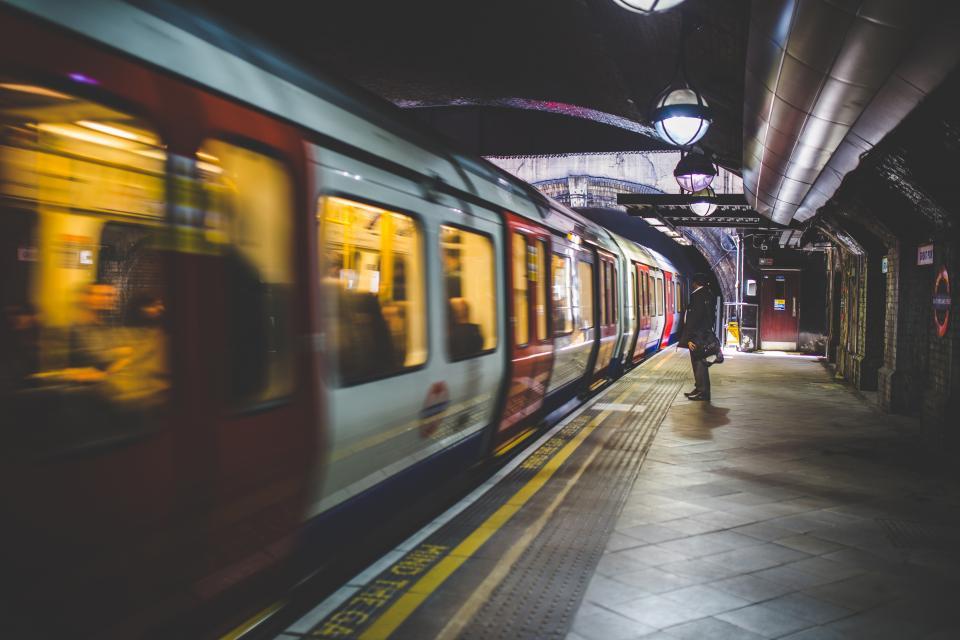 subway, train, station, transportation, urban, city