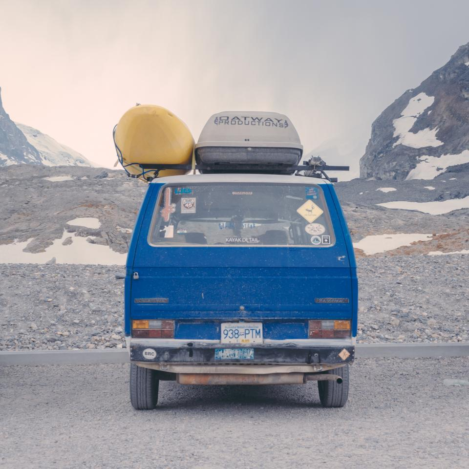 road trip, van, travel, transportation, roof rack, cargo