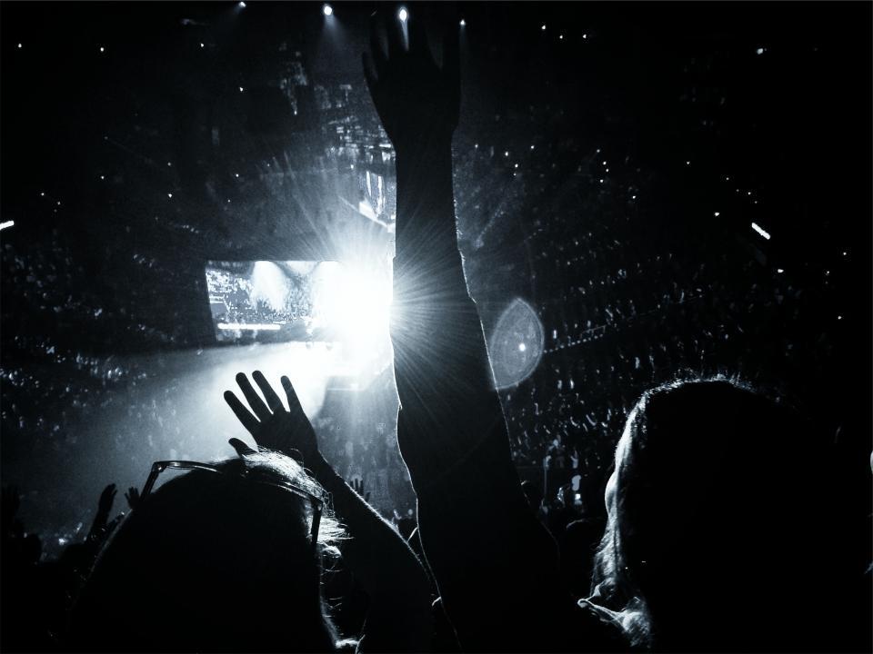 concert, show, people, party, crowd, entertainment, stadium, lights