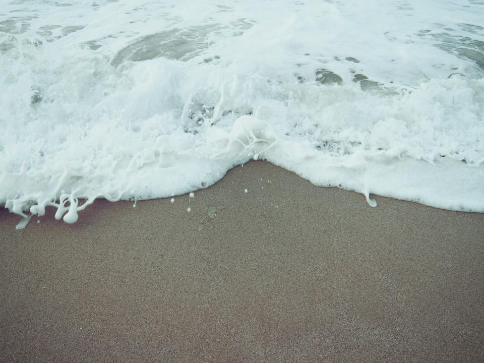 beach, sand, shore, waves, ocean, sea, water