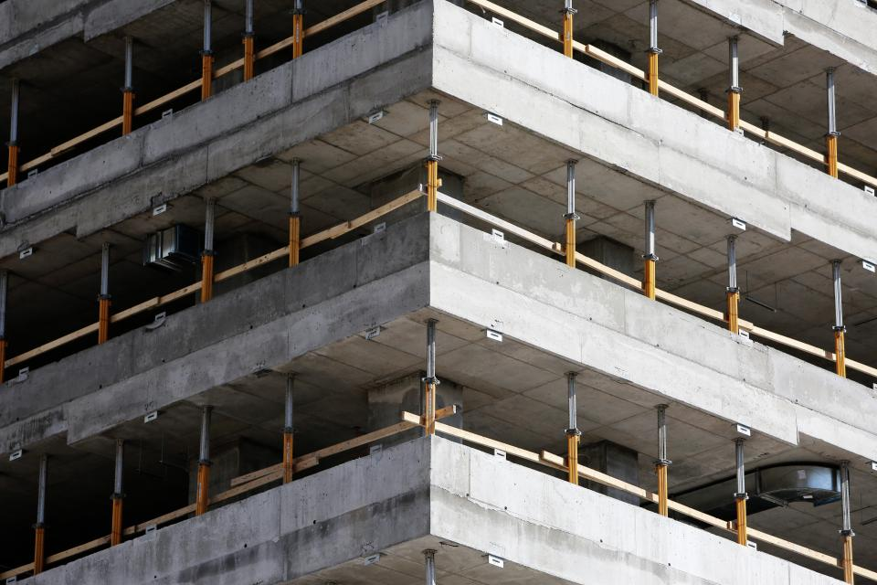 building, construction, concrete, architecture