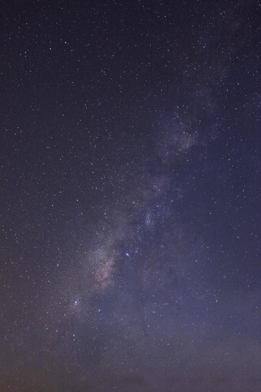 nature, sky, clouds, night, constellations, stars, universe, galaxy, space, gradient, blue, purple, black
