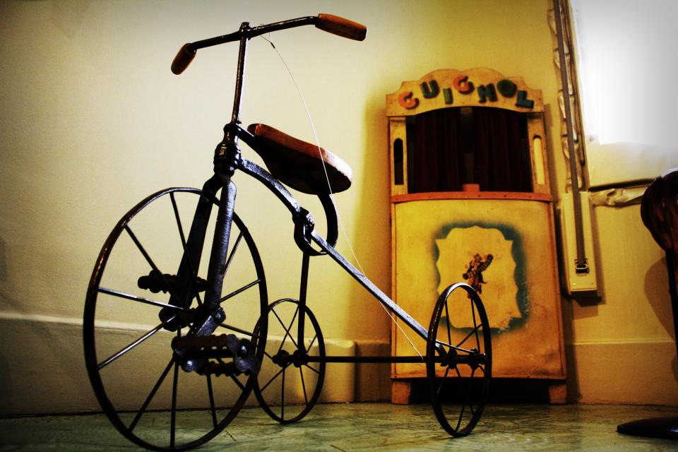 antique, tricycle, vintage