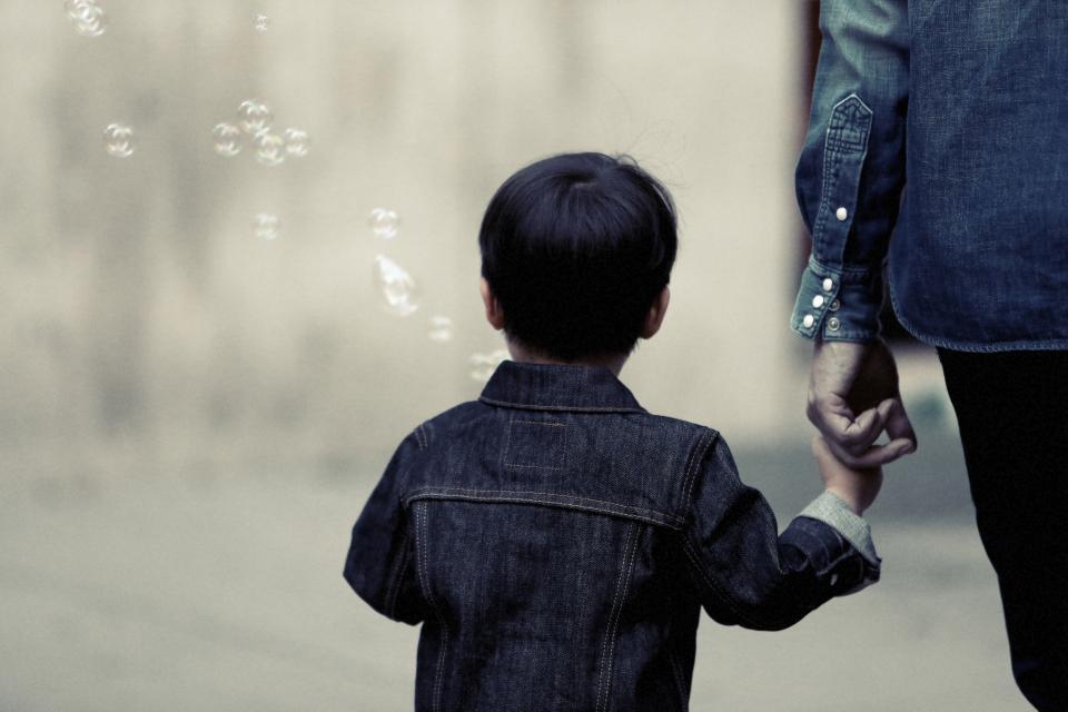 boy, child, kid, family, parent, bubbles, denim, jacket, people
