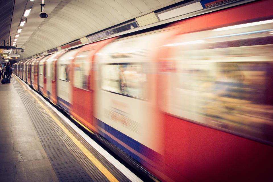subway, metro, train, station, transportation, city, urban