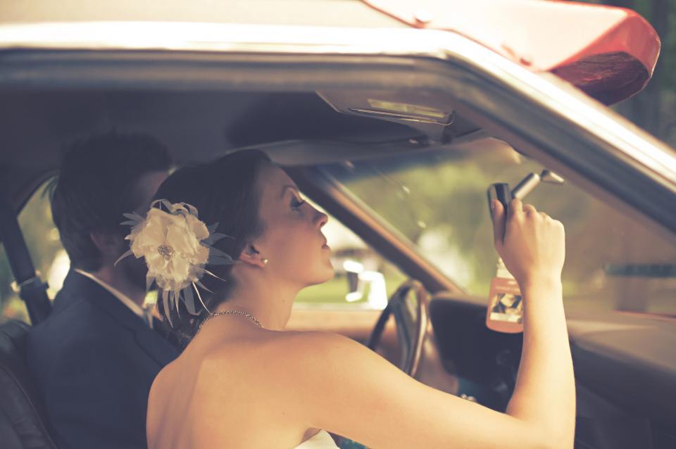 bride, groom, marriage, wedding, couple, love, romance, man, woman, people, car