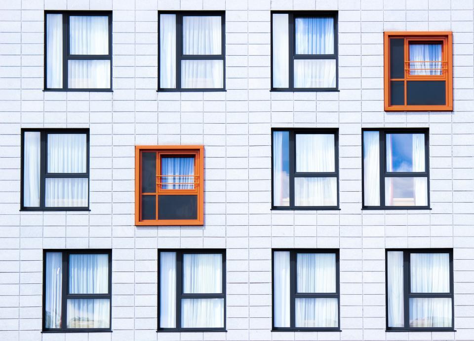 building, windows, walls, architecture, urban