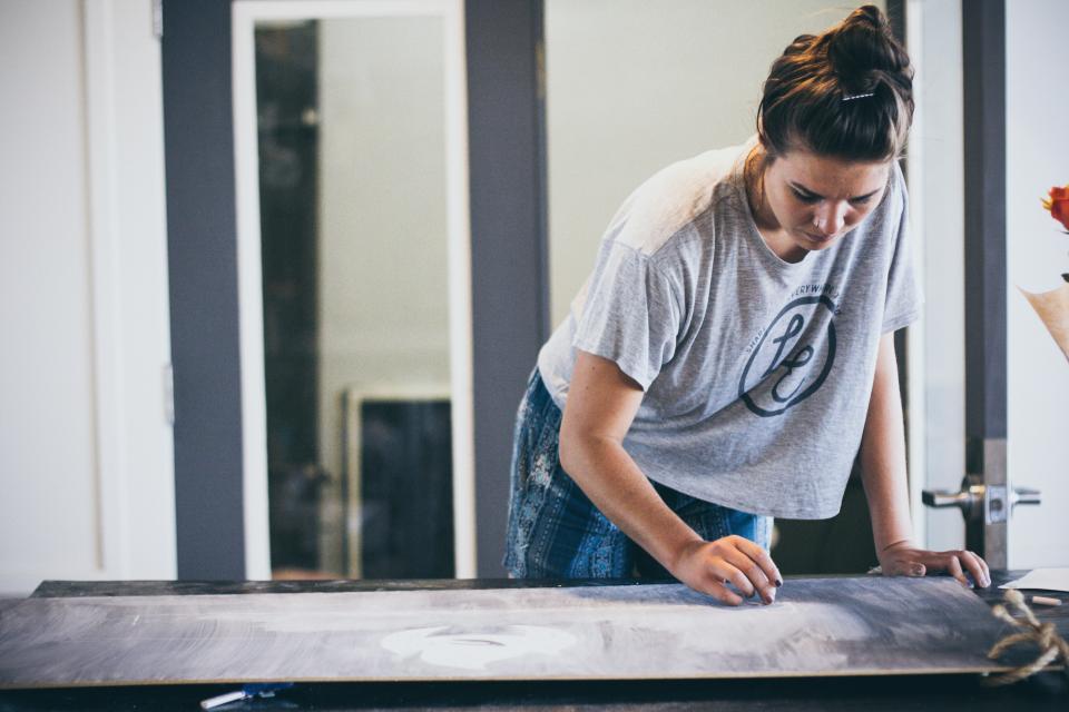 people, girl, alone, work, furniture, design