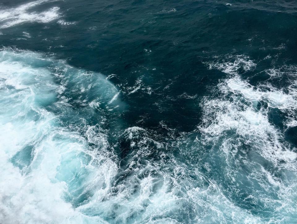 nature, water, ocean, sea, waves, splash, blue