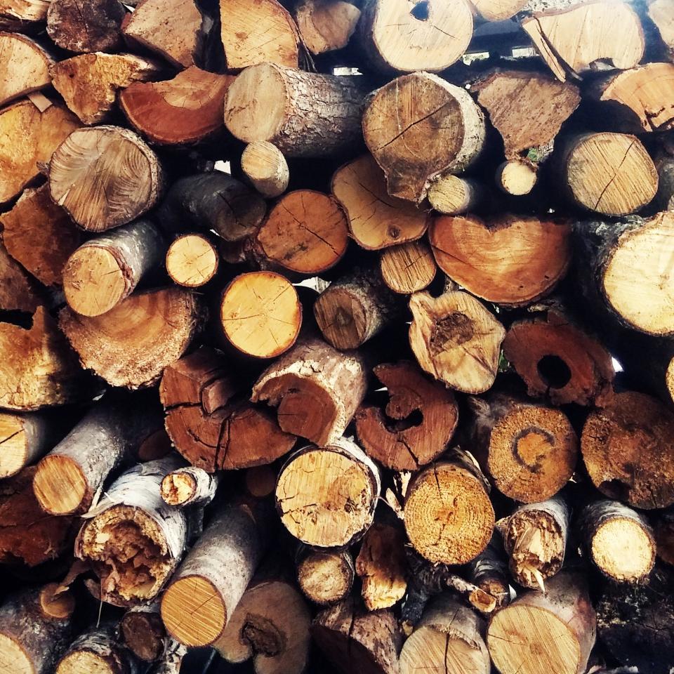 wood, logs, lumber, texture, pattern