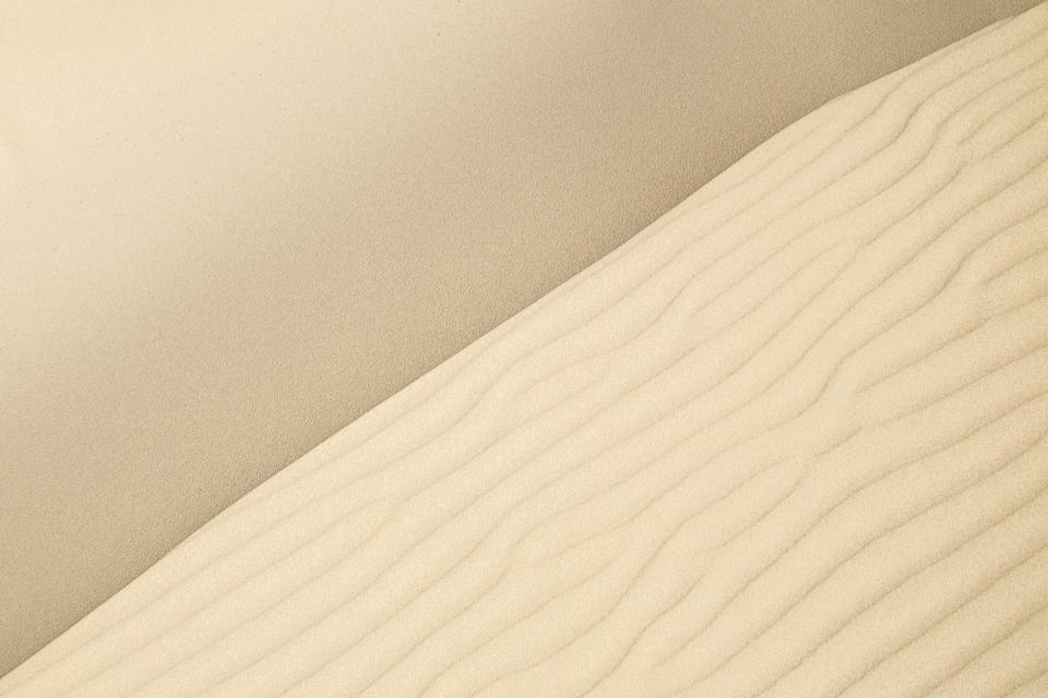 nature, desert, sand, beige, patterns, texture, minimalist