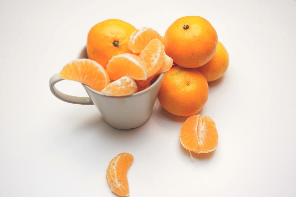 tangerines, clementines, oranges, fruits, food, healthy