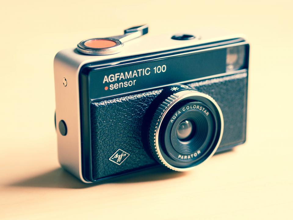 afgamatic, camera, vintage, lens, photography