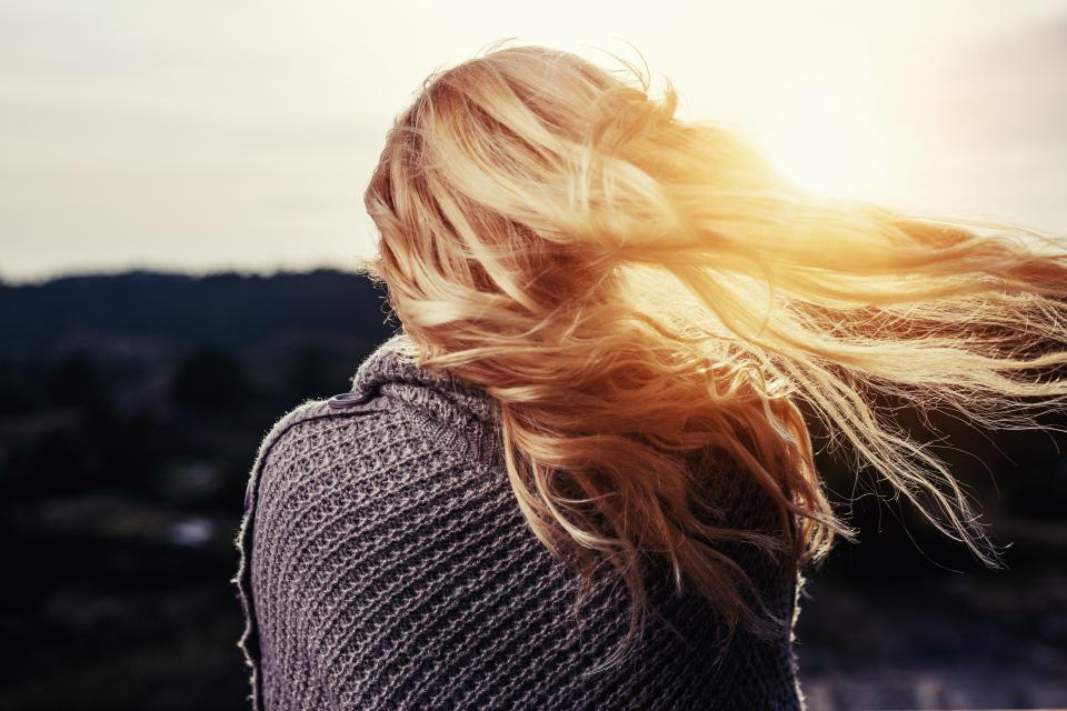 girl, woman, people, long hair, blonde, fashion, sunshine, sun rays