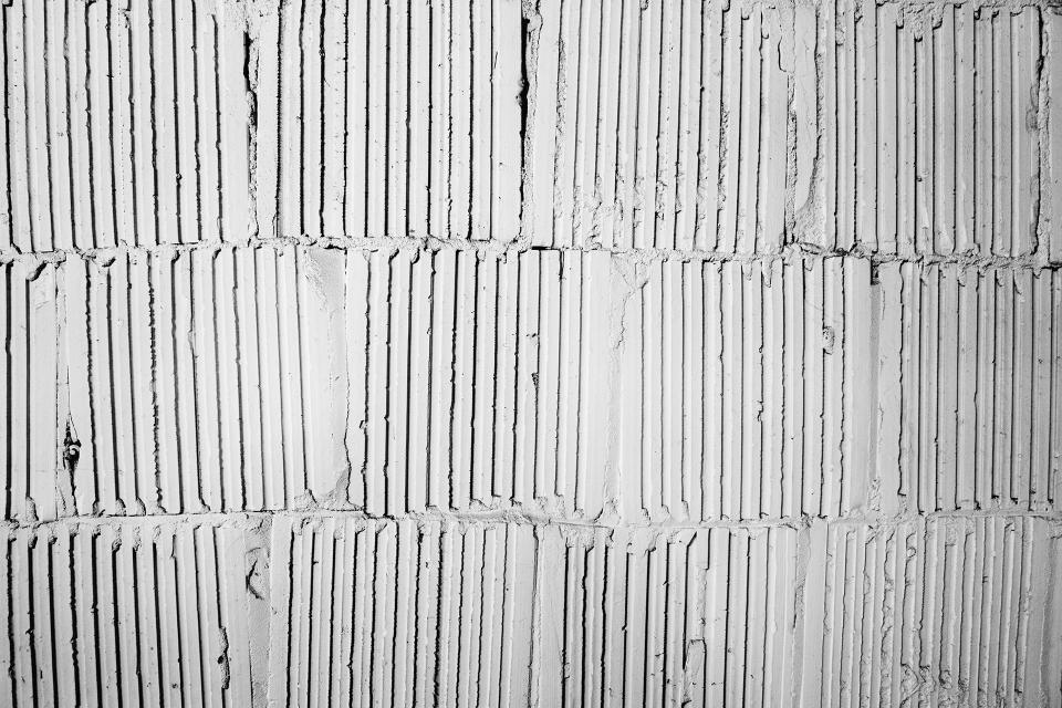 wall, texture, pattern, black and white